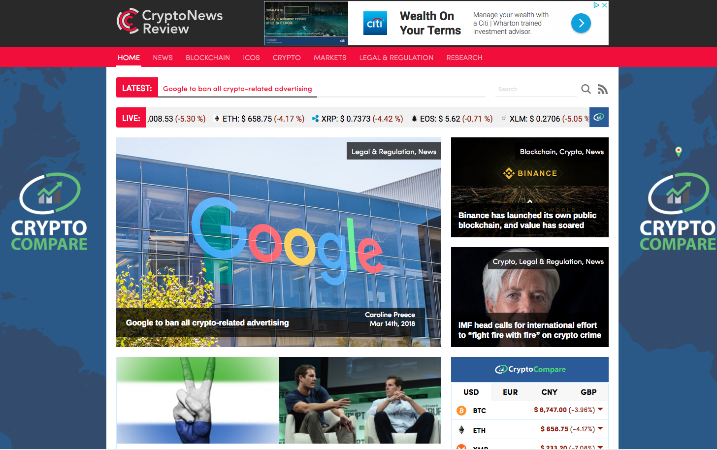 Crypto News Review work 1